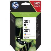 HP 301 Ink Cartridge - Multipack